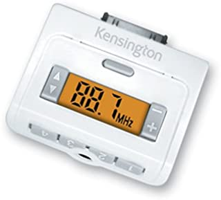 Kensington 33169 Digital FM Radio and Transmitter for iPods