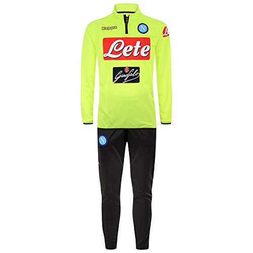 Kappa Training Track-Suit Napoli Yellow 18/19 Naples