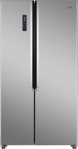 Daya, frigorifero side by side, DFA-550NV2XF0, classe F, kitchen slim (profondo 60 cm), total inox,...