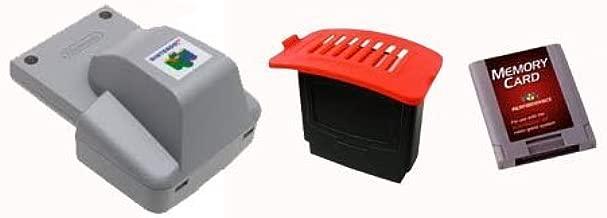Nintendo 64 Accessories Set - Rumble Pak, Expansion Pak & Memory Card