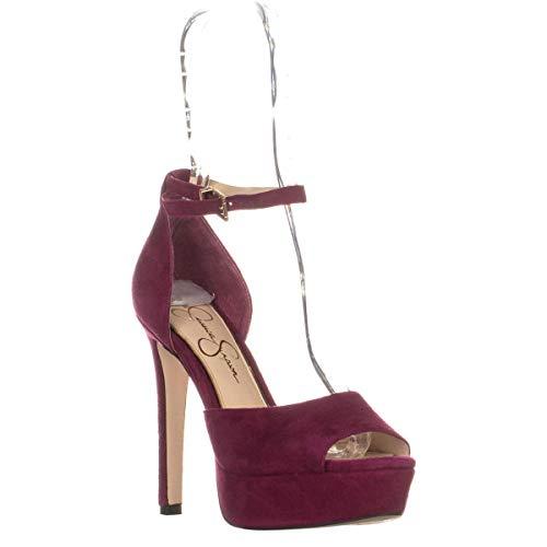 Price comparison product image Jessica Simpson Woman's Beeya Sangria Sandal (7.5)