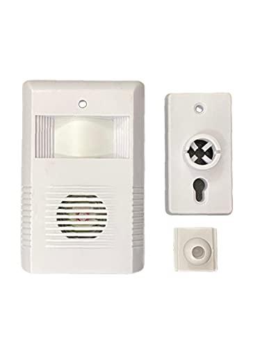 Detector Sensor De Presença Sem Fio Anunciador Sonoro