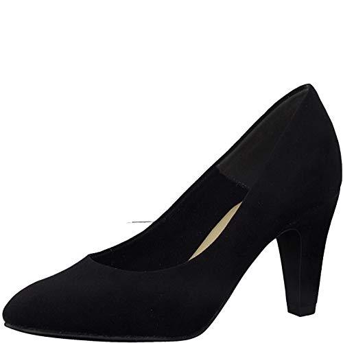 Tamaris Damen Pumps, Frauen Klassische Pumps, Lady Ladies Women's Women Woman Business geschäftsreise geschäftlich Court-Shoe,Black,38 EU / 5 UK