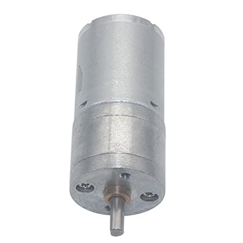 Wnuanjun 1 UNID JGA25-370 Motor de reducción, Motor engranado Torque Alto DC 3V Motor de Engranaje eléctrico Robot Smart Car (Color : 66 RPM, tamaño : 3V)