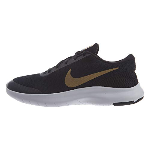 Nike Women's Flex Experience RN 7 Running Shoes (9 B US, Black/Metallic Gold/Obsidian)
