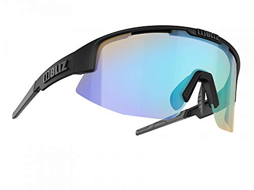 Bliz Matrix SF Nordic Light Sportbrille, matt Black/orange Blue