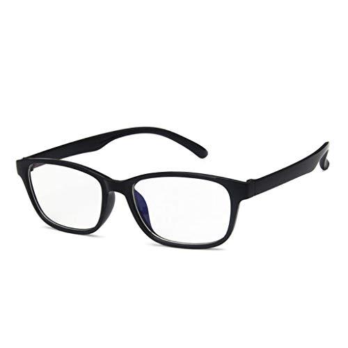 Karrychen Gafas de protección para Ordenador de teléfono móvil, protección contra Rayos Azules, Bloqueo de radiación, Gafas de Ordenador para Hombres y Mujeres, Gafas - Oscuro