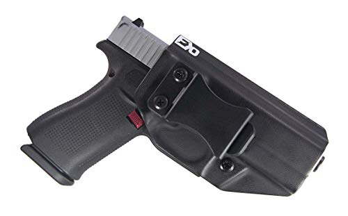 FDO Industries (Formerly Fierce Defender IWB Kydex Holster Compatible with Glock 48 The Winter Warrior Series -Made in USA- (Black)