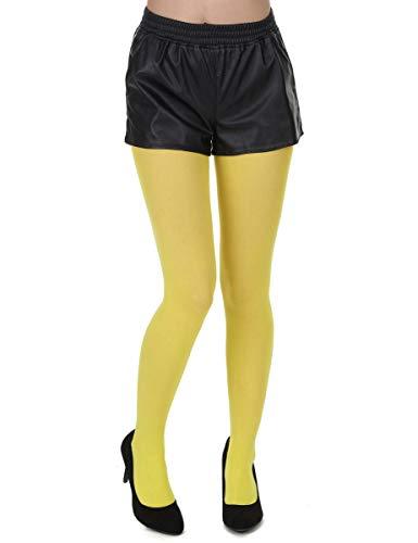 Generique - Gelbe Strumpfhose Erwachsene
