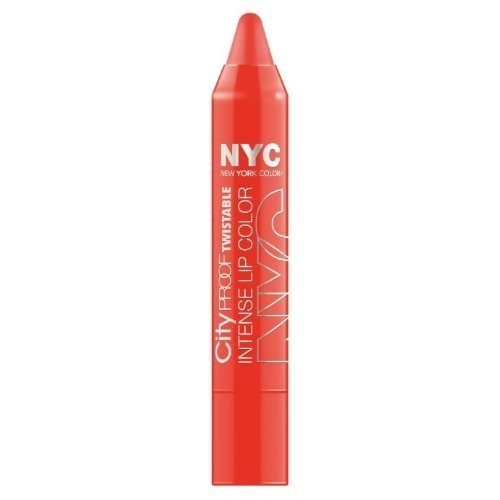 (6 Pack) NYC City Proof Twistable Intense Lip Color - Canal St Coral by N.Y.C.