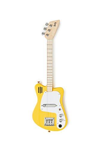 Loog Mini Electric Guitar for Kids - Yellow