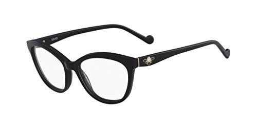 LIU Jo LJ2692R Acetate Sonnenbrille Ebony Unisex Erwachsene, Mehrfarbig, Standard