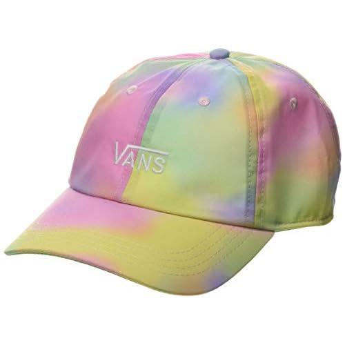 Vans Court Side Printed Hat Berretto da Baseball, Multicolore (Aura Wash Vdu), (Taglia Unica: OS) Donna