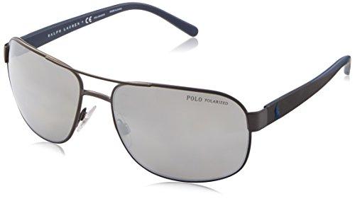 Polo Ralph Lauren 0Ph3093 9157Z3 62 zonnebril, grijs (poolgrijs)