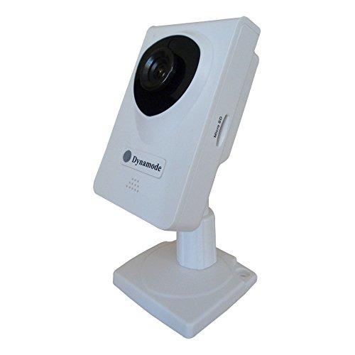 DYNAMODE Draadloze Kleur IP Camera met Zoom - Wit