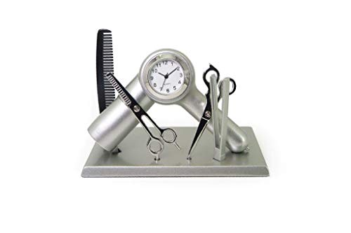 This clock is a nice xmas gift idea for a hairdresser