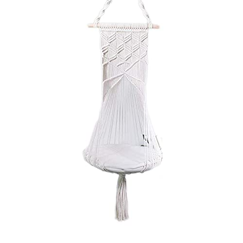 litulituhallo Hamaca para gatos con diseño de macramé, para colgar en la cesta de mascotas, estilo 1