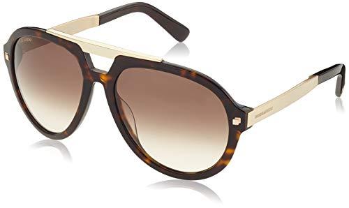 Dsquared DQ0226 DQ0226-52F-Braun Sonnenbrille 62, Braun