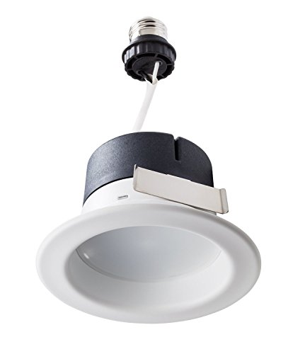 Philips LED Downlight 1 Pack, 50W Equivalent 4 inch Retrofit Recessed Lighting, Soft White (2700K), Dimmable