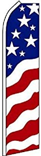 USA New Glory Feather Flag, American Business Flag (Flag Only)