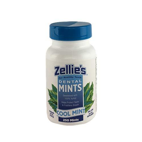 Zellies Cool Mint Mints, 250 Count jar