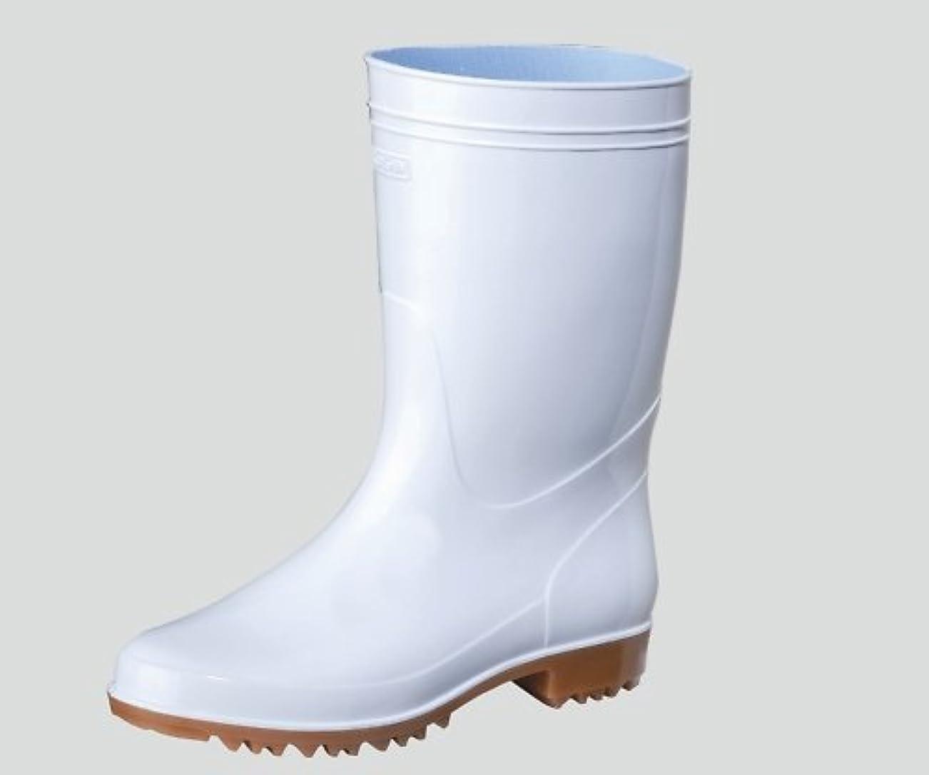 ブーム経済スーツケース弘進ゴム8-7246-31抗菌長靴ゾナG3耐油白28cm