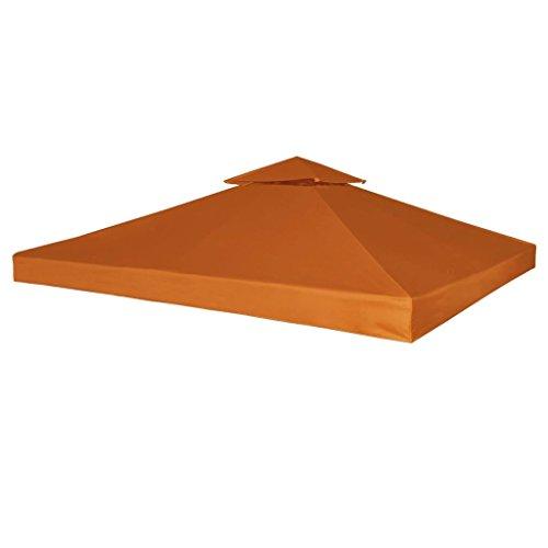 Festnight Toile de Toit Toile de Rechange pour Tonelle Imperméable 3 x 3m 270g/m²