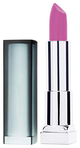 Maybelline New York Make-Up Lippenstift Color Sensational Creamy Mattes Lipstick Rose Rush / Sanftes Rosa mit mattierendem Finish, 1 x 5 g