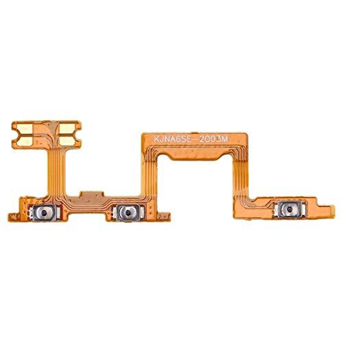 CathyHan Botón de Encendido y botón de Volumen Cable Flexible for Huawei Nova 6 SE