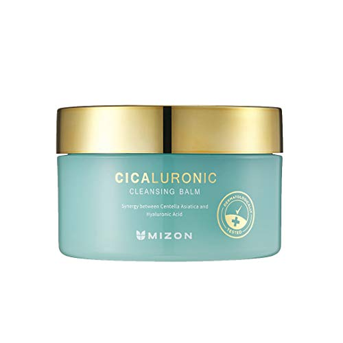 Mizon Cicaluronic Cleansing Balm Makeup Remover with Cica and Hyaluronic Acid (2.7 fl oz)