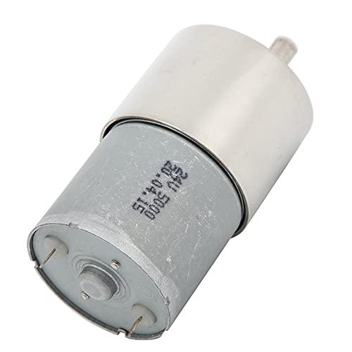 Motor De Reducción De Velocidad, Motor De Imán Permanente Reducción De Ruido Motor De Engranajes De CC Mini Imán Permanente Para Deshumidificadores Para Humidificadores Para(200 rpm/min)
