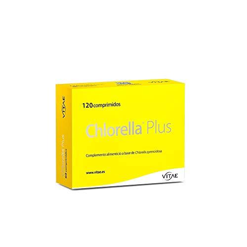 Vitae Chlorella Plus Complemento Alimenticio, 120 Tabletas