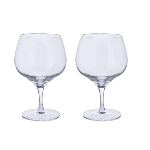 Dartington Crystal ST3351/5/P Bar Excellence Gin Copa Ballongläser, kristallklar, 1 Paar