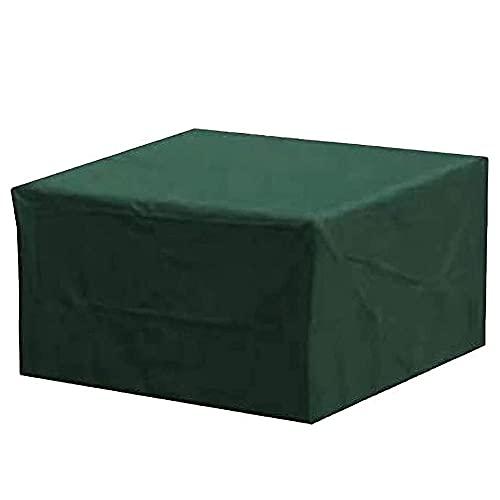Fundas de Muebles, Funda Protectoras Muebles Jardin, Impermeable Funda Protectoras Muebles de Jardín Anti-UV a Prueba de Viento Resistente al Polvo, Rectangular
