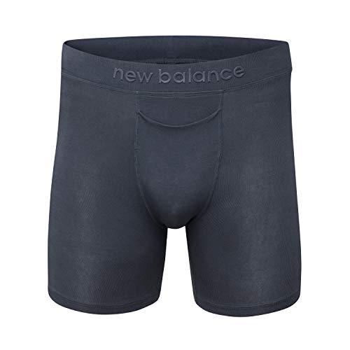New Balance Men's Modal 6' Inseam Boxer Brief Underwear