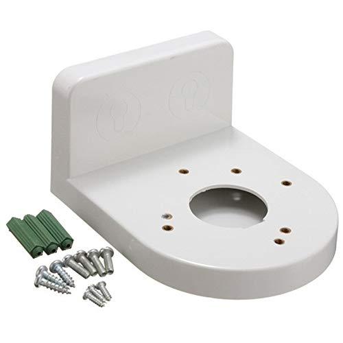 Práctico L-Type 3.5 Pulgadas de ángulo Recto de plástico Soporte de Pared for la cámara de Circuito Cerrado de televisión IP de la bóveda de Seguridad