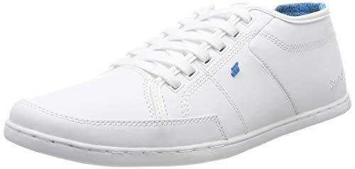 Boxfresh Herren Sparko Sneaker, Weiß (White Whte), 43 EU