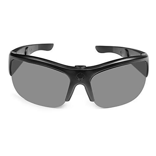 TJ Half-Frame - Gafas de sol con auriculares abiertos, gafas de sol inteligentes para hombre y mujer, gafas de ciclismo UV400, ligeras para ciclismo, pesca, correr (medida 129 mm pequeña