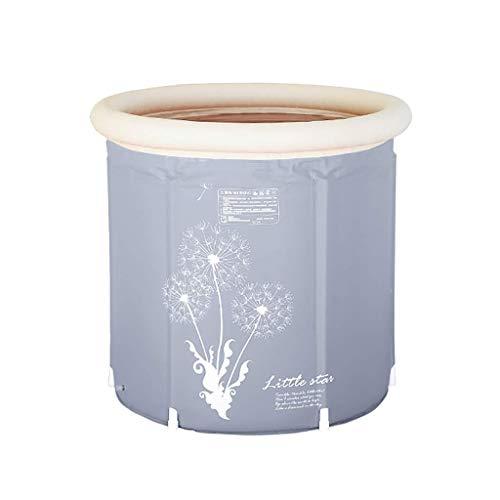 LNDDP Household Thick Plastic Bathtub, Easy Folding Storage, PVC Portable Bathtub, Adult Bracket Bathtub, Best Gifts