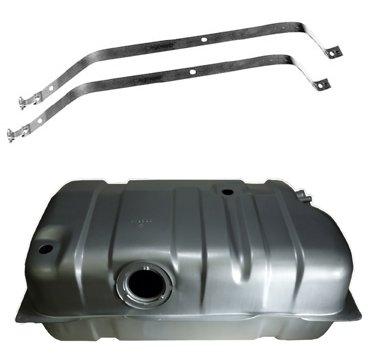 20 Gallon Gas Fuel Tank w/Strap Set Kit for Jeep Cherokee