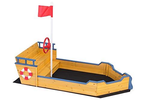 Baloo Sandkastenboot   Perfekt für Kinder ab 3 Jahren