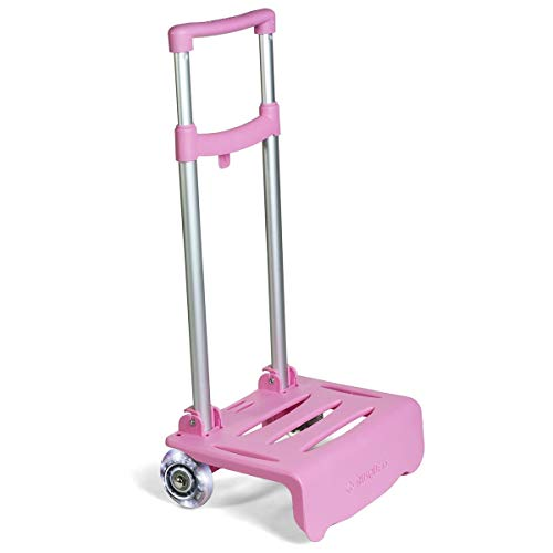 Busquets Carrello Luminoso Rosa per i Zaini