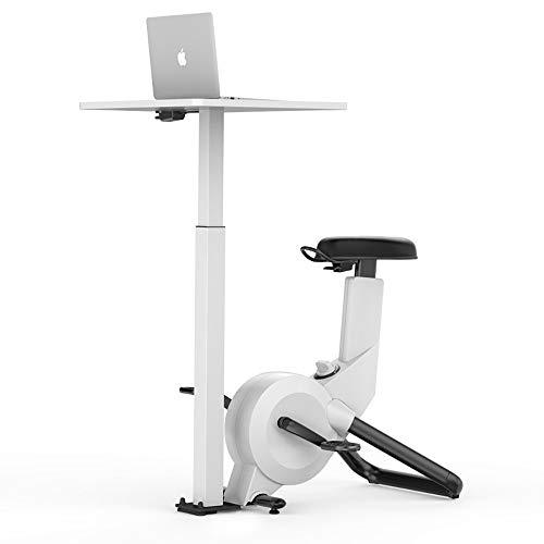 YAJAN Bicicleta Indoor Bicicleta de Spinning Nivel Avanzado Altura Ajustable Niveles de Resistencia Ajustables Plegable y Fácil de Almacenar Bastante Tranquilo Unisex