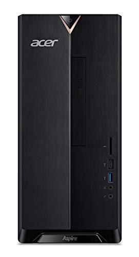 Acer Aspire TC-886 Desktop-PC (Intel Core i5-9400F, 16 GB RAM, 1024 GB SSD, NVIDIA GeForce GTX 1650 (4 GB VRAM), Windows 10 Home) schwarz