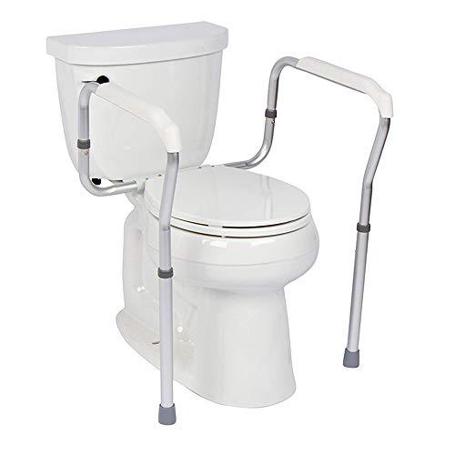 Bathroom handrail Rieles De Seguridad para Inodoros,pasamanos De Inodoro para Ancianos,Barra De Apoyo del Inodoro Ajustable para La Seguridad del Baño, El Soporte del Inodoro Es Fácil De Instalar
