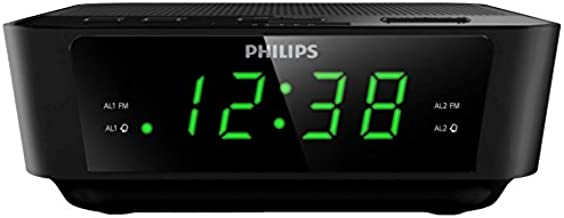 Philips AJ3116/12 - Radio Despertador (Doble Alarma, Snooze