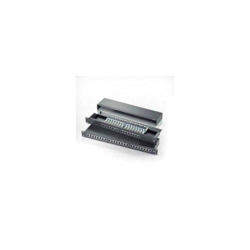 ROLINE 26110328 Cat.5e 48,26 cm (19 inch) patchpaneel, 24 poorten zwart