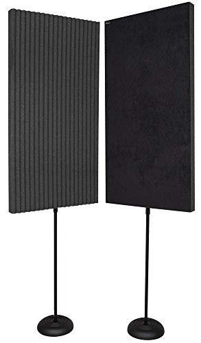 Auralex Acoustics Portable Acoustic Treatment Panels for Podcasting,...