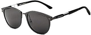 نظارات شمسية ريترو بتصميم عتيق لون فيثديا رمادي