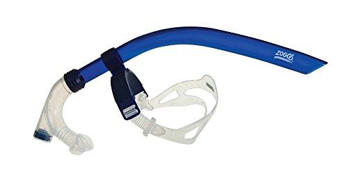 Zoggs Schnorchel Centre Line Snorkel, Blue, One Size